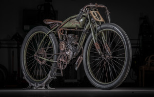 Custom Track Racer Replica Bike