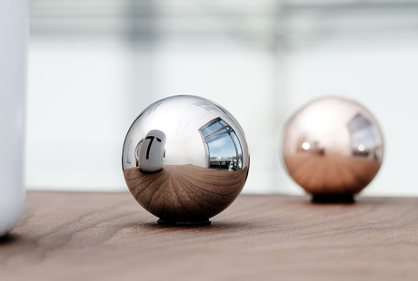 Copper + Titanium Spheres