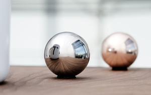 Copper + Titanium Spheres