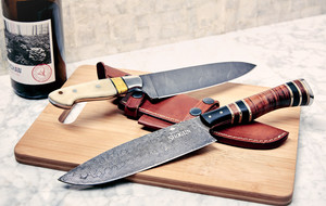 Damascus Kitchen Knives