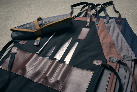 All-In-One Aprons & Knife Rolls