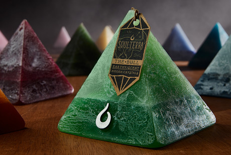 Bewitching Zodiac Pyramid Candles