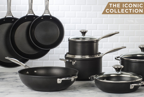 Toughened Nonstick Cookware
