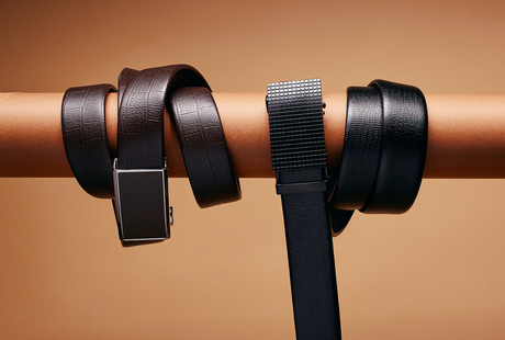 Exquisite Automatic Leather Belts
