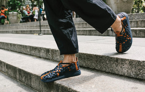 Elevated Woven Sandals