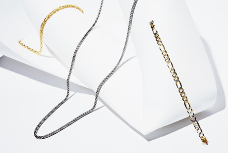 Gold + Silver Chains