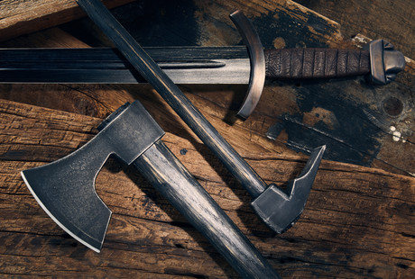 Licensed Replica Swords + Axes