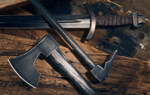 Licensed Replica Swords + Axes