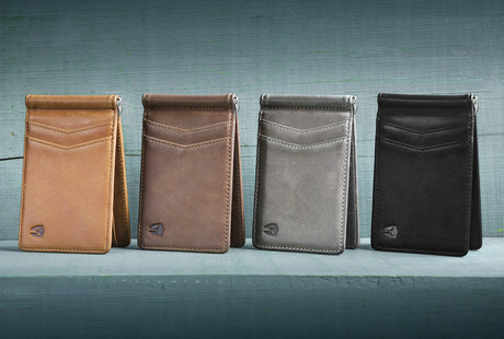 Handcrafted Leather Wallets & Bags