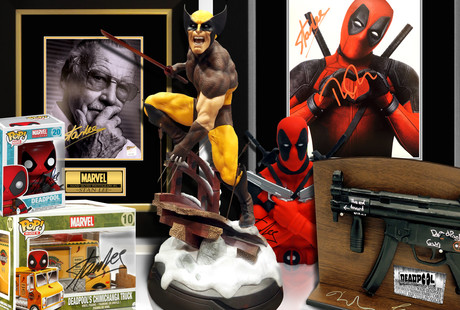 Signed Deadpool & X-Men Memorabilia