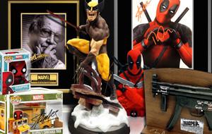 Signed Deadpool & X-Men Memorabilia