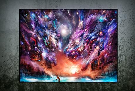 Brilliantly Illuminated Wall Art