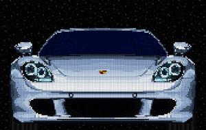 Mosaic Luxury Car Prints