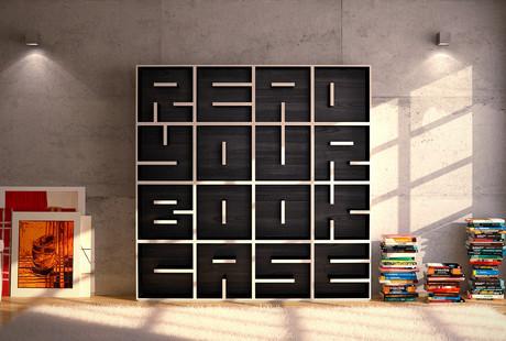 Alphabet Bookcases