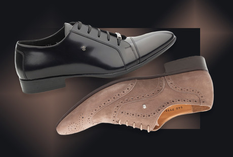 Classic Leather Dress Shoes + Slippers