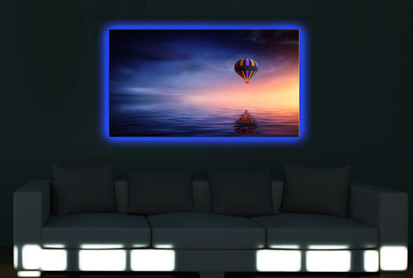 LED Backlit Canvas Art