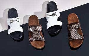 Sleek Dress Shoes + Bold Sneakers