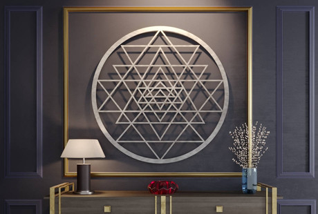 Laser Cut 3D Wall Art