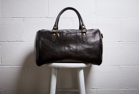 Leather Travel Bags + Duffles