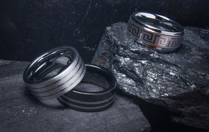 Handmade Tungsten Carbide Rings