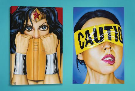 Evocative Contemporary Canvas Prints