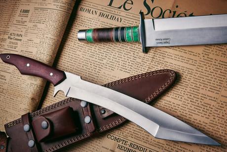 D2 Steel Tactical Blades
