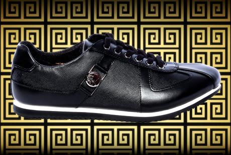 Designer Leather Sneakers