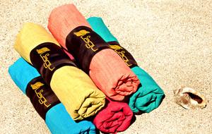 Sand-Repellant Beach Blankets