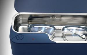 The Ultrasonic Eyewear Cleaner