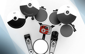 The Portable Electric Drum Kit