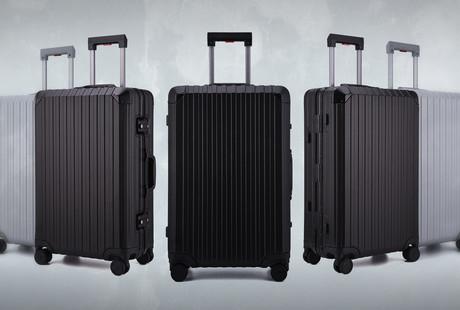 Aluminum x Carbon Luggage