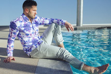 Expressive Luxury Shirting