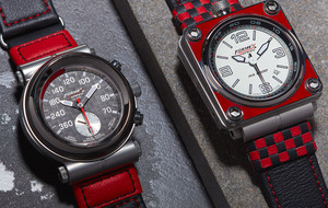 Auto-Inspired Swiss Watches