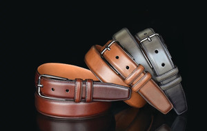American-Made Leather Belts