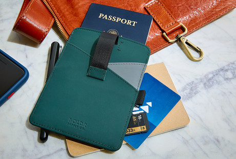 Tough Leather Passport Wallets