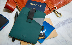 Tough Leather Passport Wallets