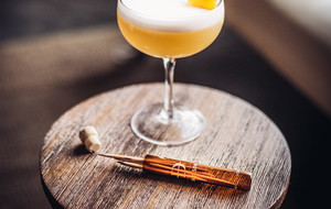Scotch-Infused Toothpicks