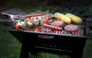 The Foldable Grill + Clip Light