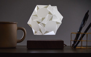 The Levitating Mood Lamp