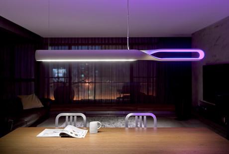 LED Floor + Table Lighting