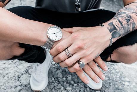 Sleek Men's Jewelry