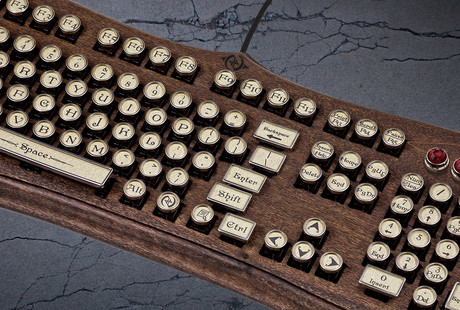The Victorian-Style Keyboard