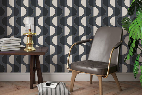 Self-Adhesive, Removable Wallpaper