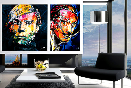 Classic Icons, Contemporary Canvas
