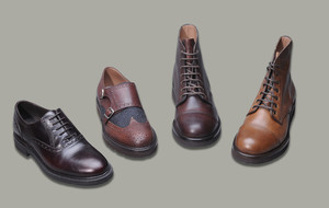 Timeless Leather Dress Shoes + Boots