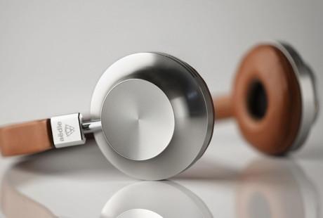 Refined Leather Headphones