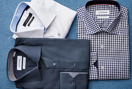 Refined, Contemporary Shirting