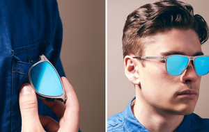 Super-Thin Folding Sunglasses