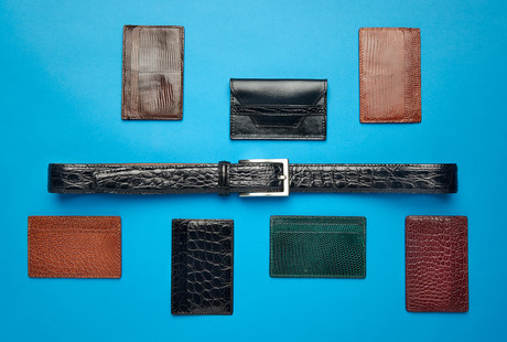 Exotic Leather Belts & Wallets