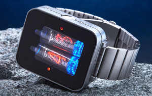 Retro-Futuristic Nixie Tube Watch
